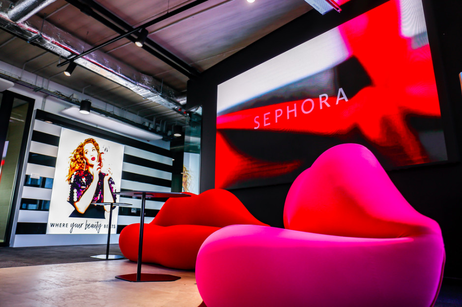 Sephora w nowej siedzibie. Zobacz wnętrza