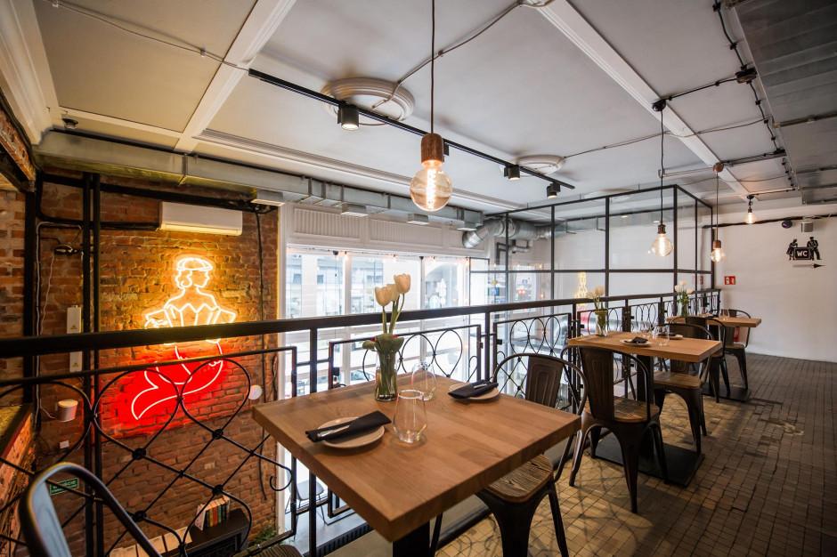 Dwa poziomy w stylu dawnej Warszawy - restauracja, jakiej wcześniej nie było