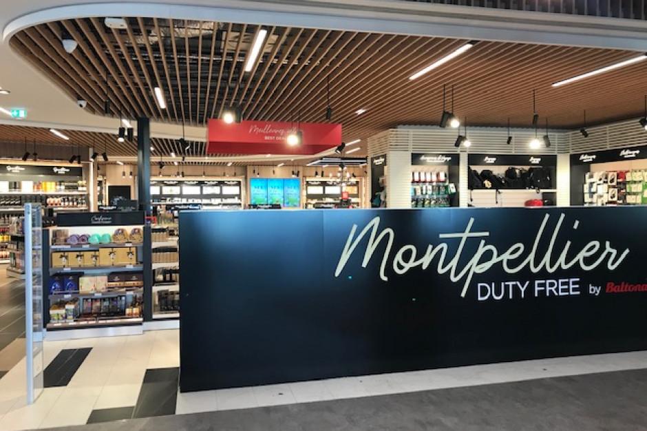 Baltona z dwukrotnie większą strefą handlową na lotnisku Montpellier