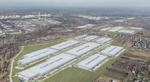 Największy w Europie hub logistyczny na półmetku budowy