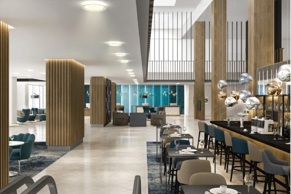 Courtyard by Marriott w nowoczesnym wydaniu. Ruszył remont warszawskiego hotelu