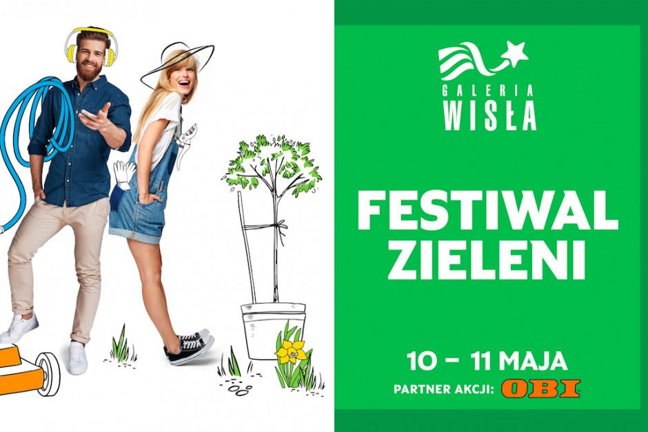 Festiwal zieleni w Galerii Wisła