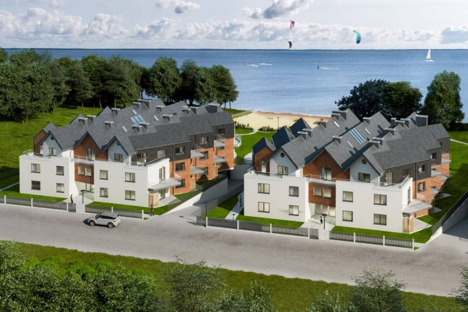 Katamarany Zatoka: apartamenty z widokiem na Zatokę Pucką