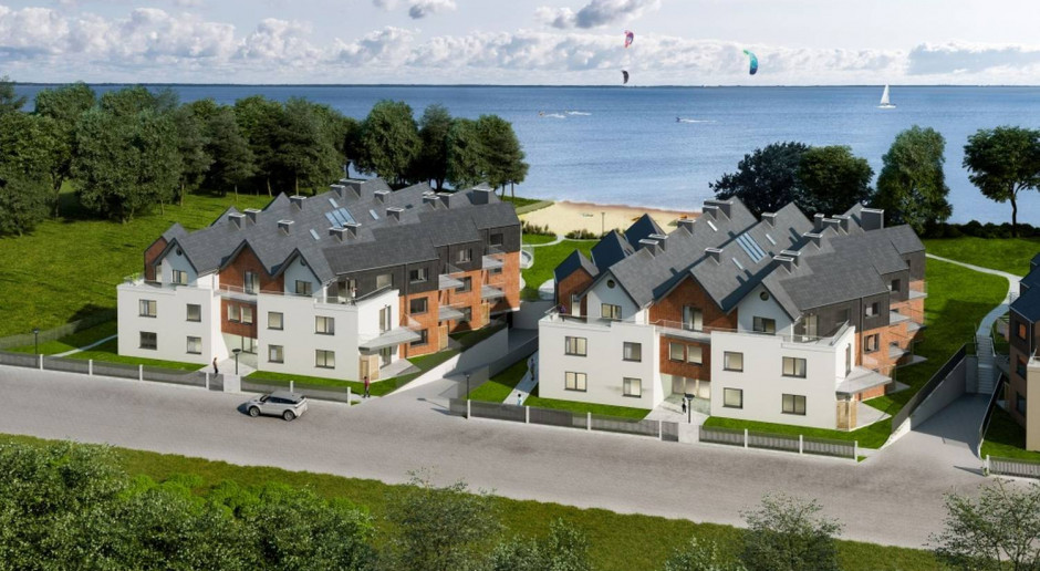 Katamarany Zatoka: apartamenty wakacyjne nad jeziorem
