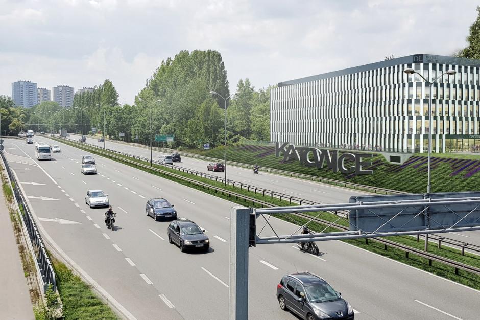 Biurowiec w Katowicach nabiera kształtów
