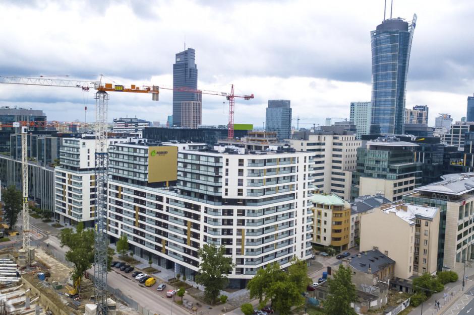 Asbud realizuje kolejny etap wielofunkcyjnego kompleksu w nowym centrum Warszawy