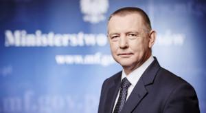 Marian Banaś na stanowisku ministra finansów