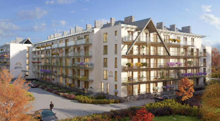 Apartamenty Zakopańskie na półmetku