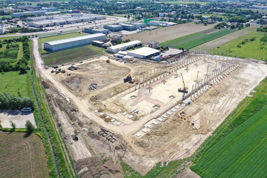 Trwają prace przy budowie 7R Park Warsaw West I