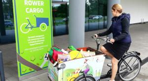 Ekologiczny pomysł na transport zakupów - rower cargo w Galerii Północnej