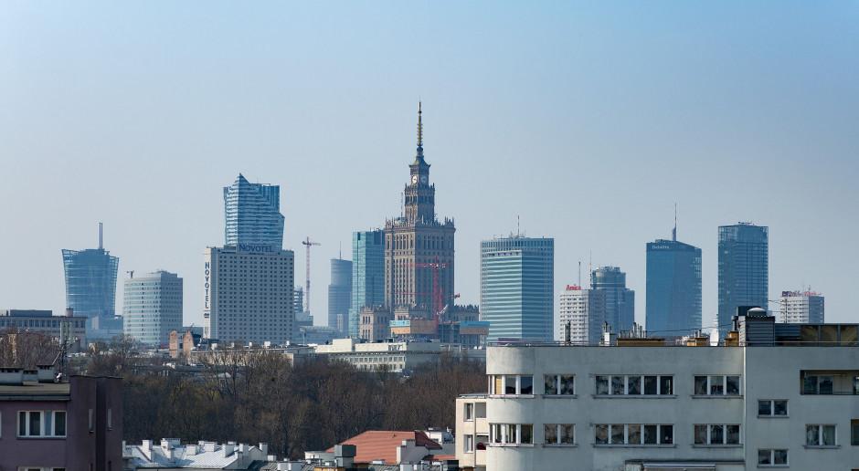 Widok z okna apartamentu. Fot. Paweł Martyniuk
