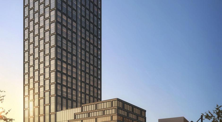 Libert Tower - wieża z mieszkaniami na wynajem na warszawskiej Woli. Fot. mat pras.