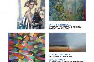 Klif otwarty na sztukę - wystawa malarstwa z kolekcji Shtuka art gallery