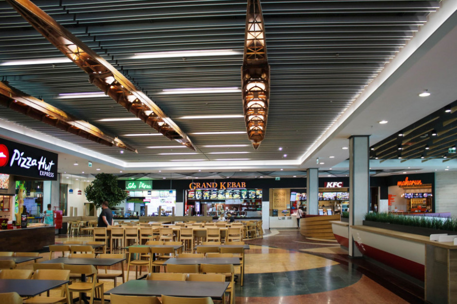 Food court jak nowy. Zobacz zmiany w Galerii Mazovia