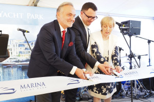 Marina Yacht Park w Gdyni oficjalnie otwarta