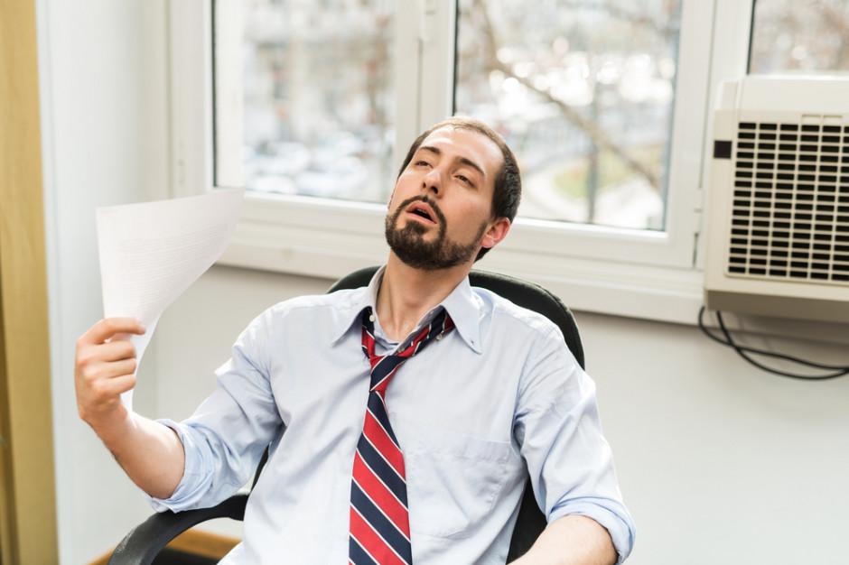 Przez upały rosną koszty utrzymania pomieszczeń biurowych, spada wydajność pracowników