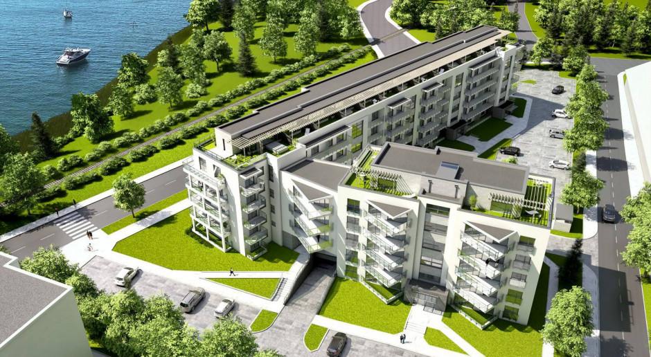 Apartamenty Białe w Augustowie: z widokiem na jezioro