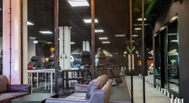 Coworking dla tatuażystów w zabytkowej elektrowni