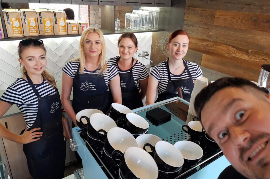 Pierwsza kawiarnia White Bear Coffee wystartowała w Białymstoku