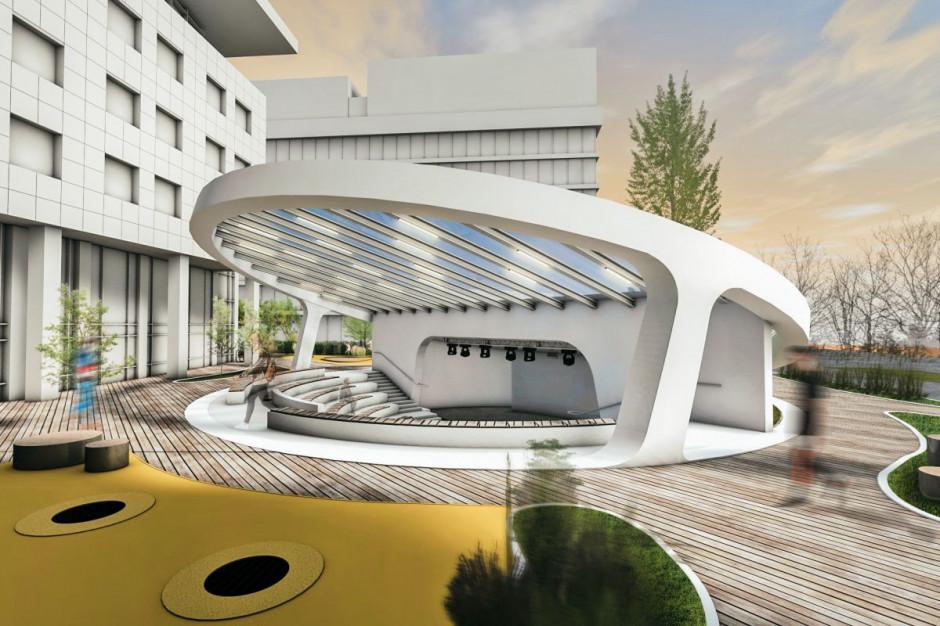 Mokotowski amfiteatr z pozwoleniem na budowę. Inwestorem deweloper biurowców
