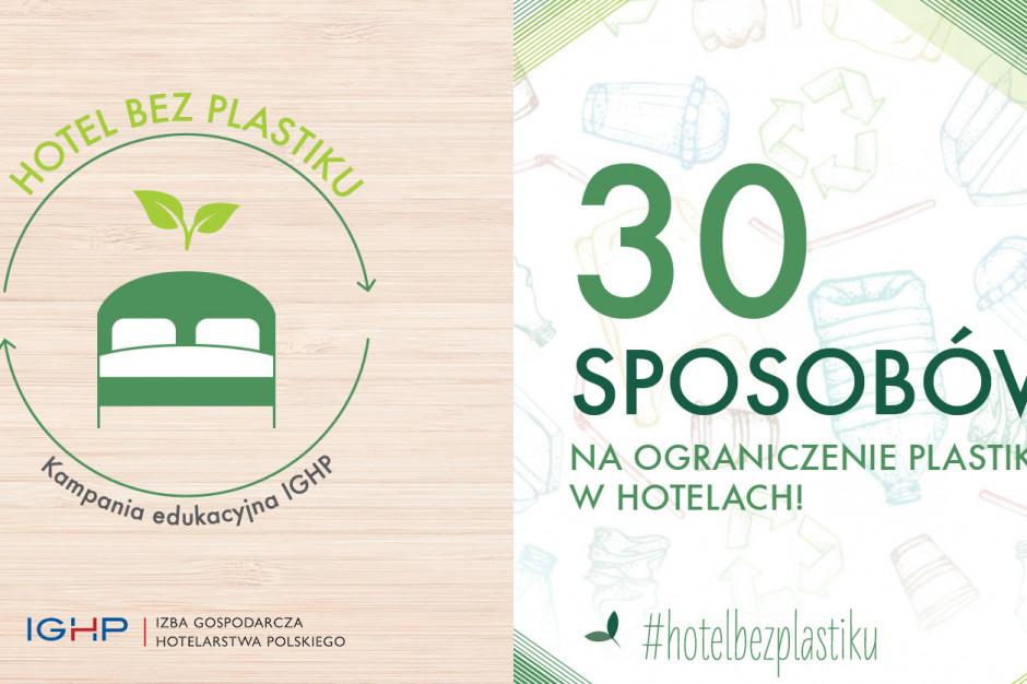 Hotel bez plastiku. IGHP rusza z nową kampanią
