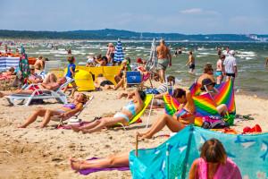 Dobra wiadomość dla urlopowiczów. Kąpiel dozwolona nad całym Bałtykiem