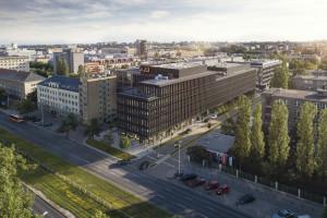 Biurowiec X2 będzie mieć sąsiada. Na Mokotowie powstanie samowystarczalny park biurowy