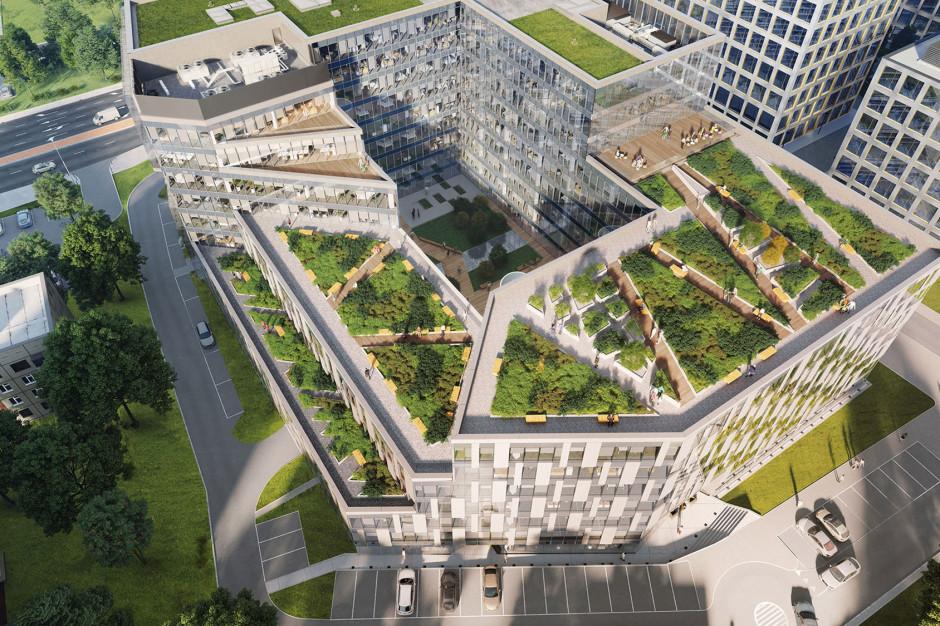 Jeden z największych i najbardziej zielonych biurowców w Krakowie. Tischnera Office walczy o Prime Property Prize 2019