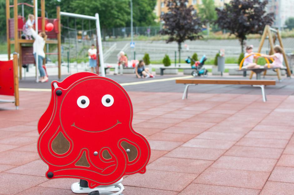 Park Handlowy Matarnia odnowił plac zabaw