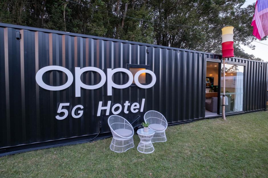 Inteligentny i futurystyczny hotel 5G
