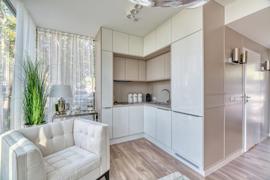 Tak wygląda apartament pokazowy inwestycji Wave Apartments w Międzyzdrojach