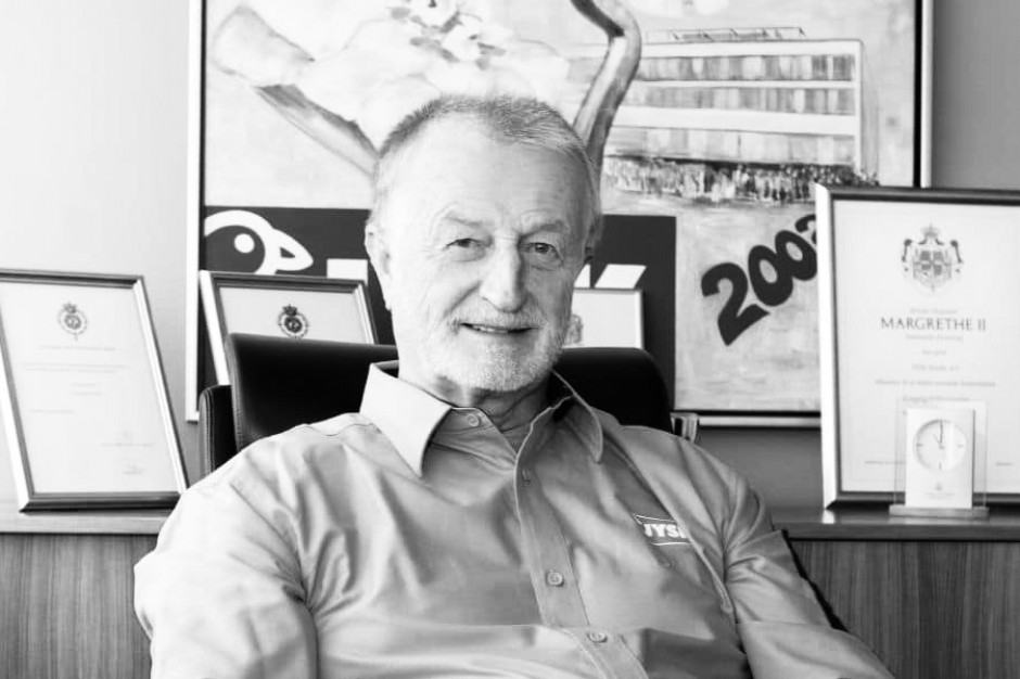 Zmarł Lars Larsen, założyciel grupy JYSK