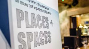 O miejskich przemianach podczas Places + Spaces