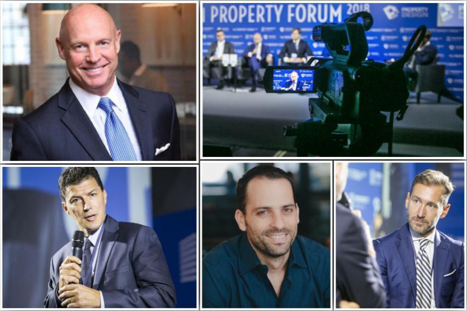 To będzie mocne otwarcie Property Forum. Underhill, Alroy i Clavie w ogniu pytań Piotra Kraśki