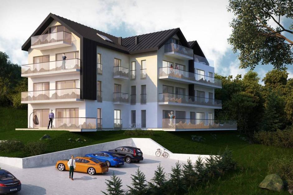Apartamenty Świerkowe: malowniczy widok na najbliższą okolicę