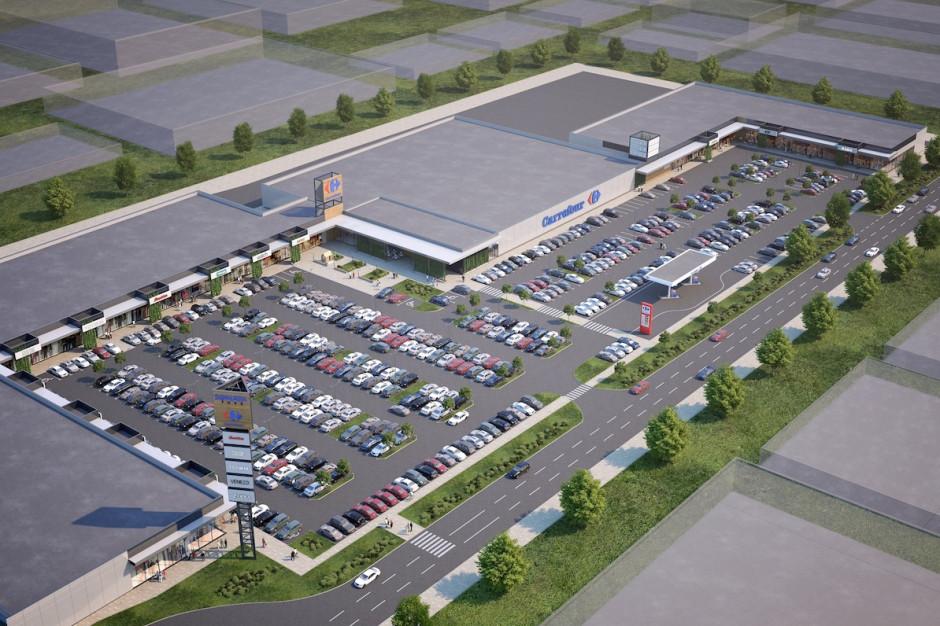 Największy park handlowy Carrefour Polska jeszcze urośnie