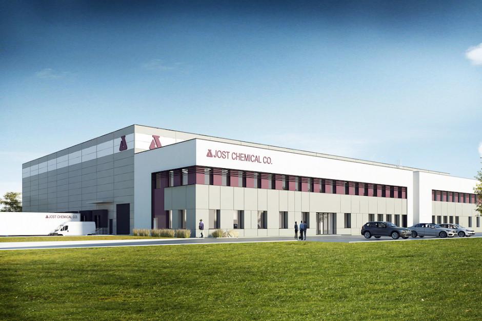 Nowy zakład dla Jost Chemical. Jakon rozpoczął prace w ramach kontraktu zaprojektuj i wybuduj