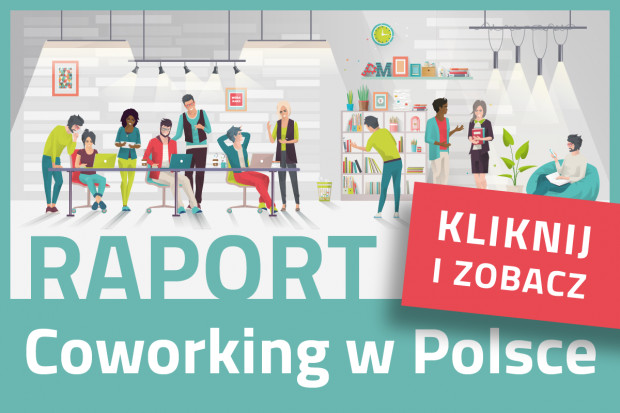 Coworking w Polsce. TOP 50 konceptów coworkingowych