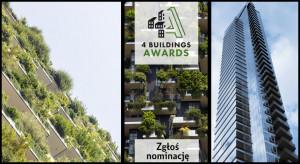 4 Buildings Awards 2019 wkracza w kolejny etap. Dziękujemy za ogromną liczbę zgłoszeń!