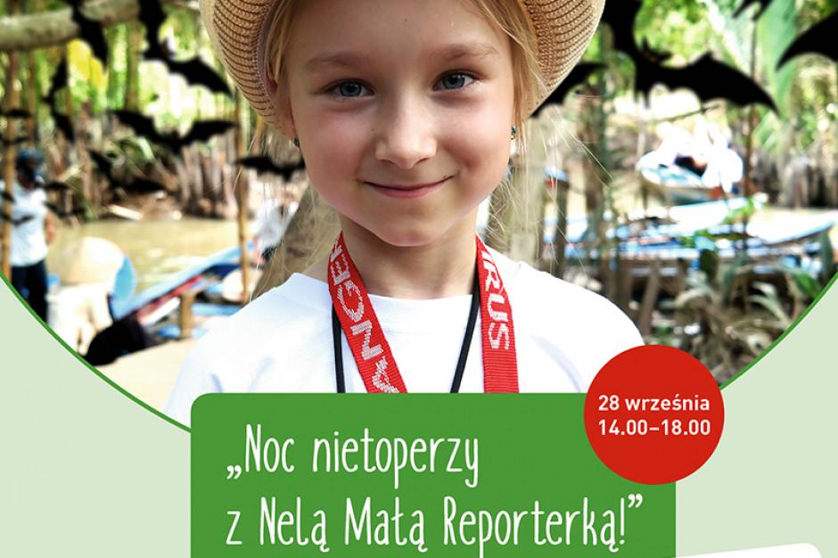 Noc nietoperzy z Nelą Małą Reporterką w Forum Koszalin
