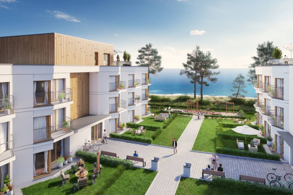 Let's Sea Baltic Park: mieszkania, pokoje i apartamenty przy plaży