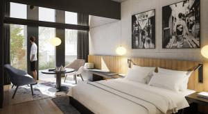 Tetris pracuje nad Nobu Hotel Warsaw