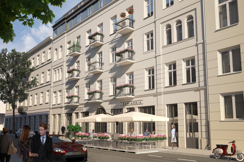 RealCo oferuje lokale usługowe w luksusowej kamienicy w centrum stolicy