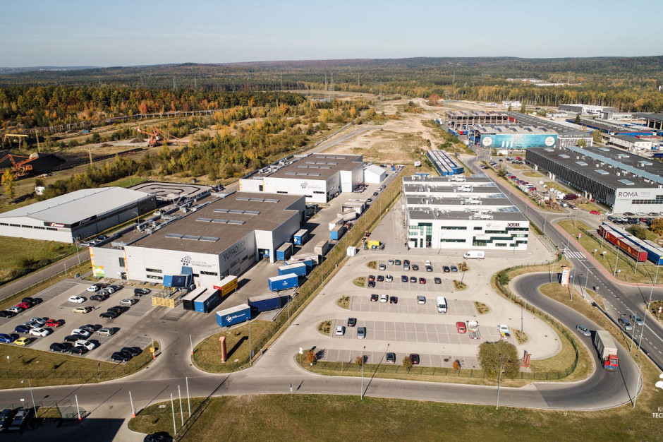 Kielecki Park Technologiczny gotowy na nowe inwestycje. Strefa D - uzbrojona