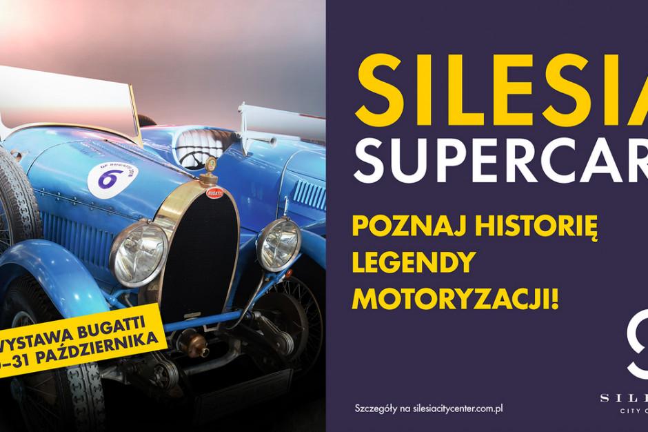 Do Silesia City Center nadjeżdżają historyczne Bugatti
