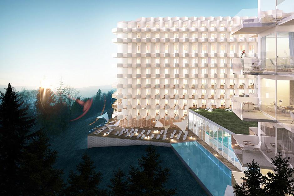 Aparthotel Crystal Mountain Resort w Wiśle na półmetku
