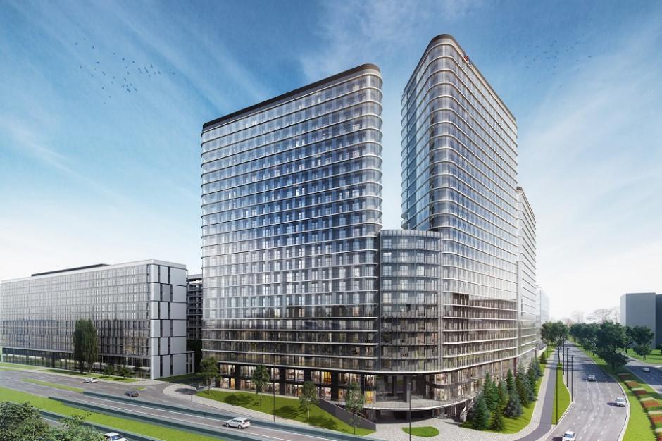 Bliska Wola Tower: 40 proc. komercjalizacji aparthotelu i lokali usługowych