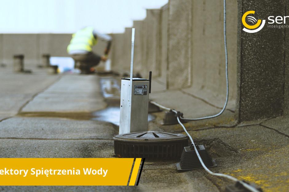 Sense Monitoring opracowała sensory do pomiaru spiętrzenia wody na dachach