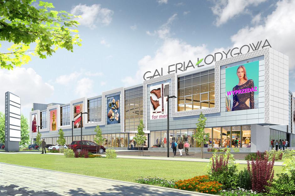 Galeria Łodygowa na etapie zamykania elewacji