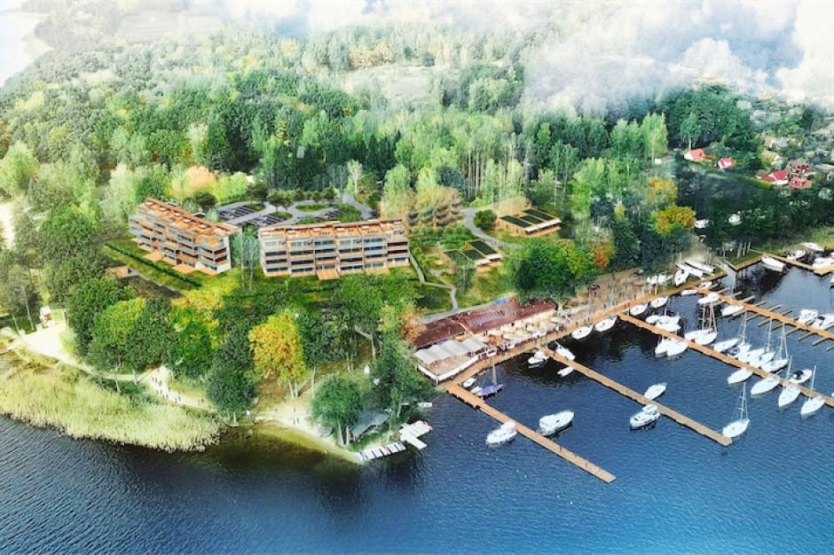 W Giżycku powstaje inwestycja dla miłośników żeglugi Stranda Residence
